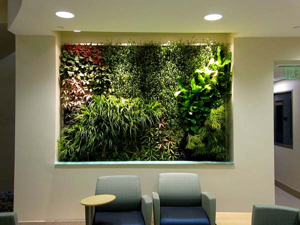 Wall mounted systems green living technologies for Living wall systems